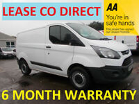 Ford, TRANSIT CUSTOM, Panel Van, 2015, Manual, 2198 (cc)***LEASE CO DIRECT***6 MONTH WARRANTY***