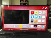 """42"""" hitachi smart led wifi tv,freeview ,(delivery available)"""