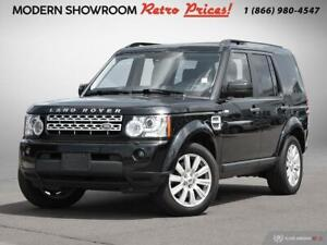 2013 Land Rover LR4 CERTIFIED & E-TESTED!  NAVIGATION LEATHER SU