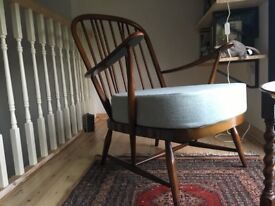 Pair of beautiful ercol windsor armchairs