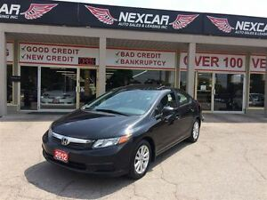 2012 Honda Civic EX 5 SPEED A/C SUNROOF ONLY 92K