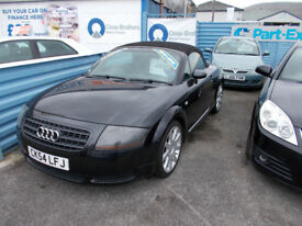 PART X DIRECT OFFERS THIS STUNNING AUDI TT CONVERTIBLE 1.8 150BHP NEW MOT SERVICE +WARRANTY !!