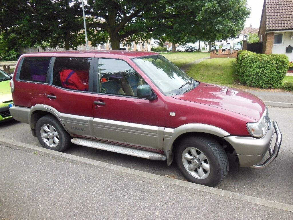 nissan terrano 4x4 7 seater lwb 2 7 tdi economy manual non offroader good chassis maybe off. Black Bedroom Furniture Sets. Home Design Ideas