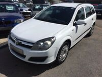2006/06 Vauxhall Astra 1.7 CDTi 16v Life 5dr AIR CON + LOW RUNNING COSTS LOOKS GREAT IN WHITE