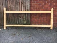 Long gate frame
