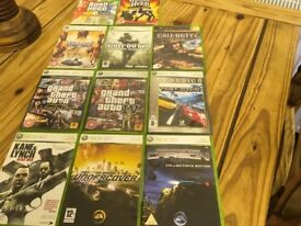 11 Xbox live games excellent condition can deliver within reason