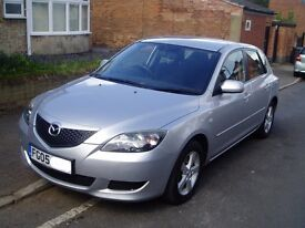 2005 Mazda 3 1.6 Ts. Full 12 Months Mot. Service History. 1 previous Owner. 5 Speed Manual.