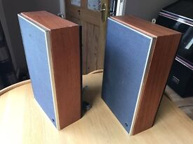 "Vintage ELAC 59rm/109s SPEAKERS with 9"" Elliptical Drivers, Retro 1960's British"
