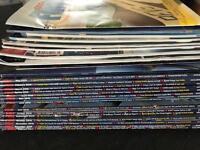 Large selection of pilot magazines plus brochures - aviation ppl