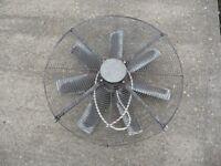 Commercial fans, 240 volts.