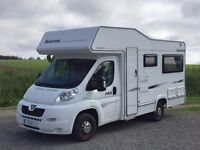 Compass Suntor 140 4 berth motorhome with 2 belted seats