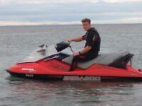 2004 Seadoo 160 bhp GTX WAKEBOARD EDITION 134hours 4 stroke family 3 seater jetski jet ski £3250.