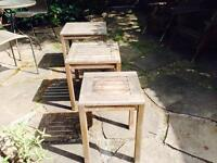 3 Small Patio Tables