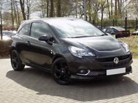2016 Vauxhall Corsa Limited Edition 1.4 in Panther Black ,only 13,000 miles-drives like new- BARGAIN