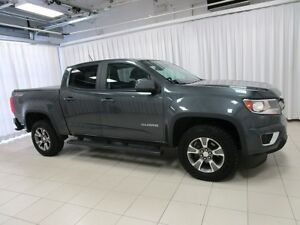 2016 Chevrolet Colorado Z71 OFFROAD 4x4 EDTN CREW CAB 4DR 5PASS