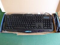 WIRED M200 TRICOLOR BACKLIGHT GAME KEYBOARD