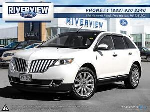 2013 Lincoln MKX 0.9% Financing!!! Free 6 year/160,000km Warrant