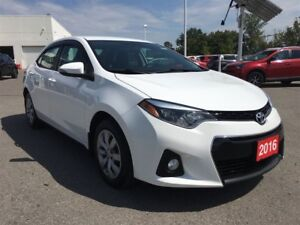 2016 Toyota Corolla S - Toyota Certified, 160 Point Inspection!