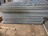 Galvanised mesh panels 1mtr x 2.6mtr