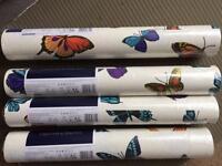 4 rolls butterfly wallpaper Graham & Brown