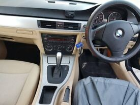BMW 3 SERIES BLACK 2008(57) 2.0L DIESEL AUTO VERY GOOD CONDITION