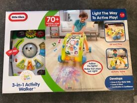 Little Tikes 3-in-1 Light and Go Activity Walker