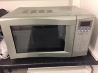 900w Sanyo EM-G4775S Microwave/Grill
