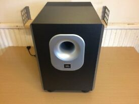 JBL CS60Sub230 Home Cinema Active Subwoofer, Deep Bass Reflex Sound, Excellent Working Condition.