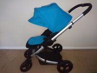 Mamas and Papas Sola city pushchair/pram/buggy with rain cover and footmuff
