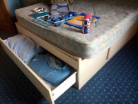 FREE: double bed and mattress