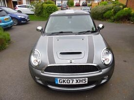 Mini Cooper S 2007 Excellent Condition. High Spec. Full Leather. Only 84k Miles. Only £3500 ono.