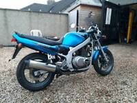 Suzuki GS500ey only 9000 miles.