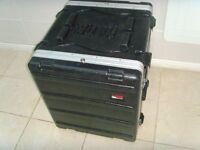 Gator 12u GR-12L Molded Rack Case including 2x Kam KCD550 cd players