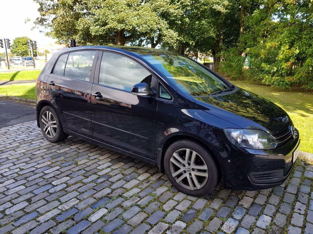 volkswagen golf plus 1 6 tdi 105 se 5dr dsg black 2010 in ashington northumberland gumtree. Black Bedroom Furniture Sets. Home Design Ideas