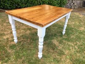 Quality Solid Pine Farmhouse Table
