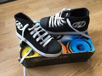 Heelys - Childs UK Size 2, Black Trainer/Boots with Wheels! Brand New, Never Worn!