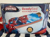 Toddler blow up ready bed