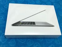 MacBook Pro 15'4inch touch bar space grey 16GB brand new sealed with fully one year apple warranty