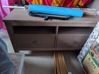 TV Bench 2 Draws Very Good Condition