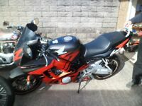 Honda CBR 600cc Lovely Condition and very low mileage