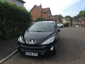 """2008Peugeot 308 SW 1.6 HDI Diesel 631.000 Miles only .£3000 """""""