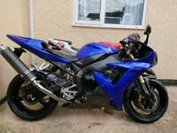 2003 Yamaha R1(VERY GOOD CONDITION LOTS OF CARBON PARTS) £3000 if gone this week!