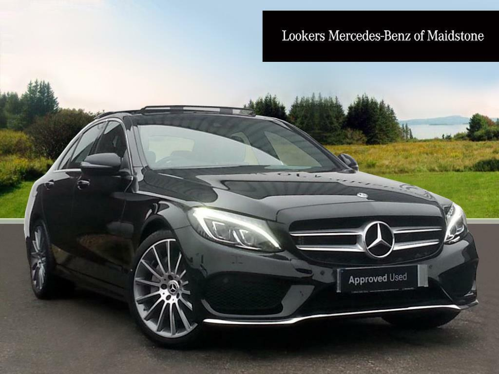 mercedes benz c class c 250 d amg line premium black 2017 12 29 in maidstone kent gumtree. Black Bedroom Furniture Sets. Home Design Ideas