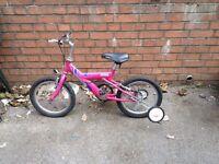 raleigh max 16 girls bike