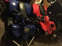 110cc and 50cc quad