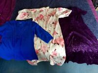 womens clothes x 20 - skirts, tops, dresses: worn 0/1 times - bon marche, debenhams - car boot stock
