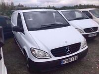 2010 MERCEDES VITO 109 cdi long wheelbase only 52000 MILES FROM NEW IN NICE CONDITION IN AND OUT