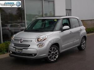 2014 Fiat 500L Sport w/Roof and Nav!