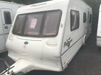 Bailey pageant vendee 2005 fixed bed with motor mover touring caravan