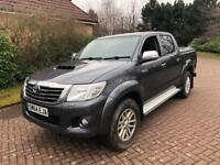 2014 year 64REG Toyota hilux ICON INVISIBLE 2.5 D4D